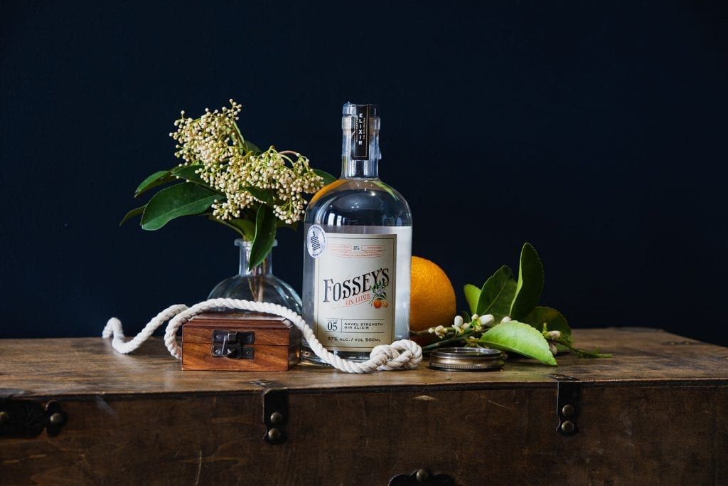 """Mother's ruin"", Fossey's Naval Stregth Gin"